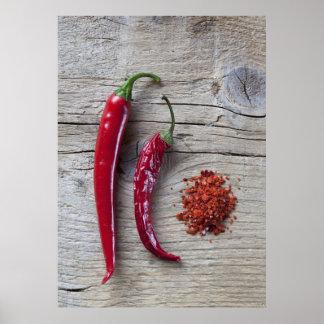 Red Chili Pepper Print