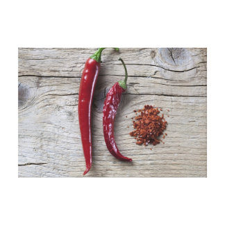 Red Chili Pepper Stretched Canvas Prints