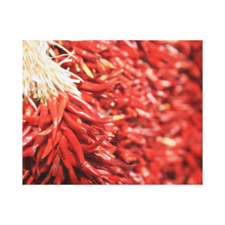 Red Chilies Gallery Wrapped Canvas