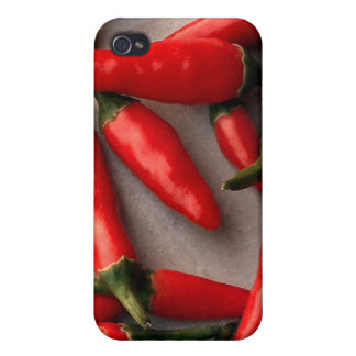 Red Chilis Cases For iPhone 4