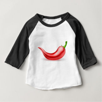 Red Chilli Pepper Baby T-Shirt
