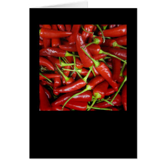 Red Chilli Peppers Gift Range Greeting Card