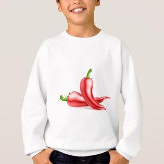 Red Chilli Peppers Illustration Sweatshirt