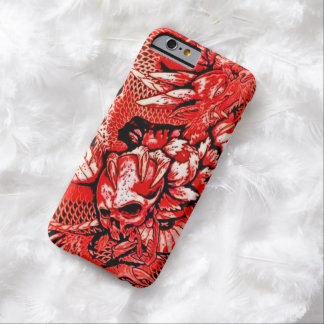 Red Chinese Dragon Skull iPhone 6 Case Barely There iPhone 6 Case
