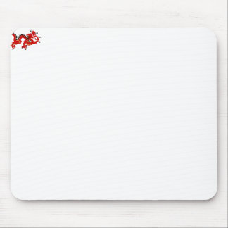 Red Chinese Style Dragon Mouse Pads