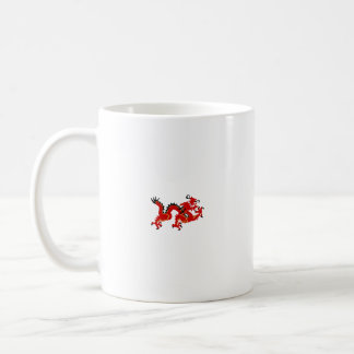 Red Chinese Style Dragon Coffee Mug
