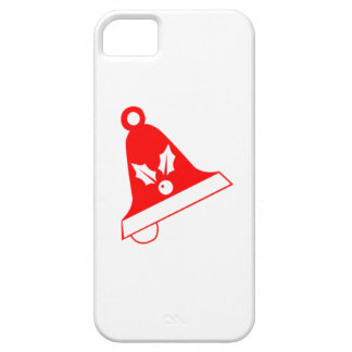 Red Christmas Bell iPhone 5 Covers