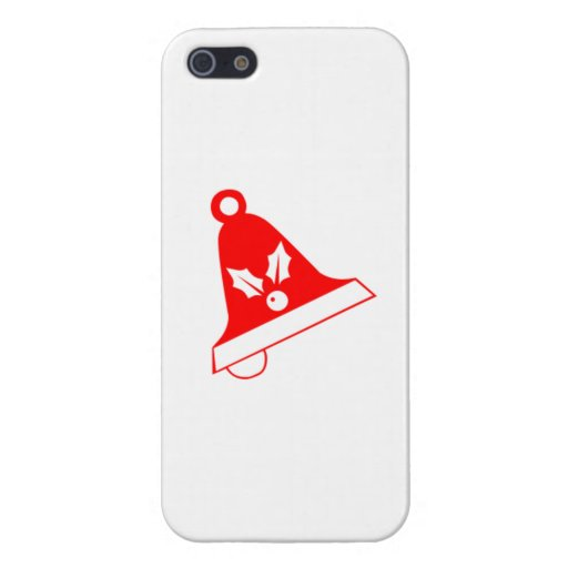 Red Christmas Bell iPhone 5 Cases