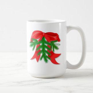 Red Christmas Bow Mug