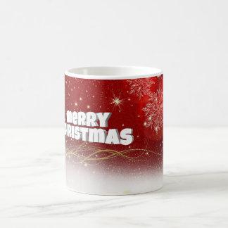 Red Christmas Coffee Mug