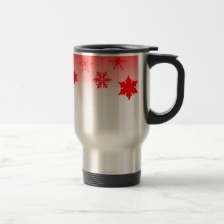 Red Christmas Decorations Travel Mug
