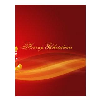 Red Christmas Flyer Design