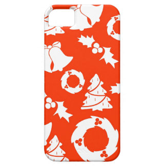 Red Christmas iphone 5 Case