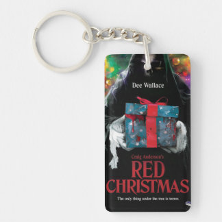 Red Christmas Keychain