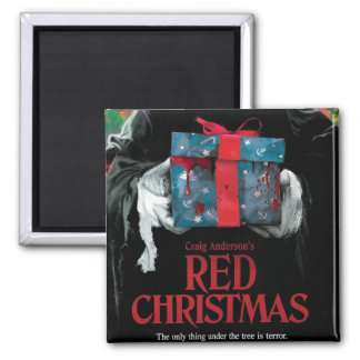 Red Christmas Magnet