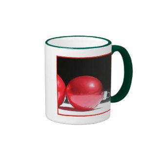 Red Christmas Ornaments mug