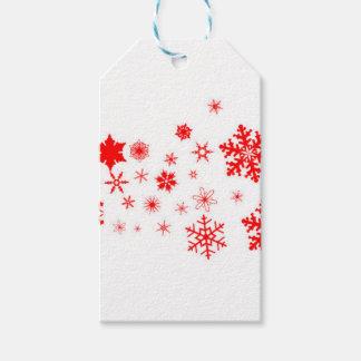 Red Christmas Snowflake  Banner