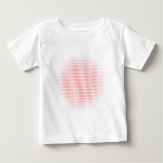 Red Circle Halftone Background Baby T-Shirt