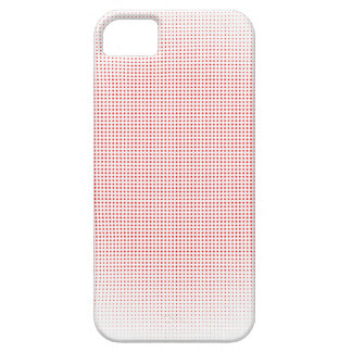 Red Circle Halftone Background iPhone 5 Covers