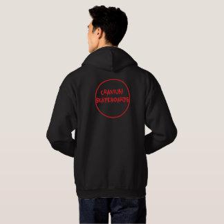 red circle logo hoodie