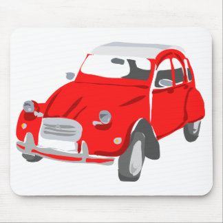 Red Citroen 2 CV Mousemat