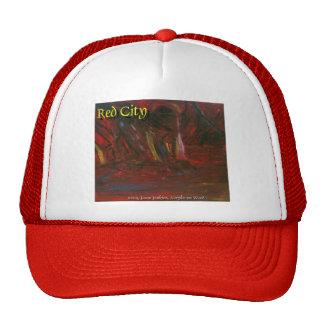 red city trucker hat