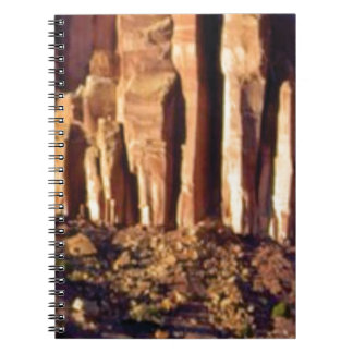 red cliff begining notebook