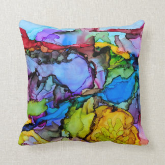Red Cliffs at Sunset Cushion