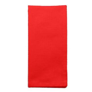 Red Cloth Napkins