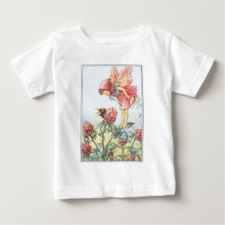 Red Clover Fairy Infant Toddler T-shirt