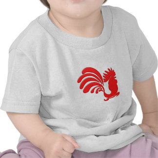 red cock talk more rooster tshirts