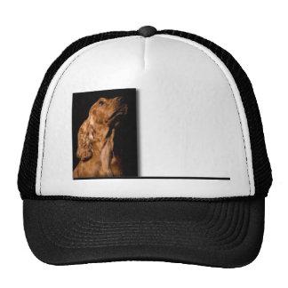 Red Cocker Spaniel Portrait Trucker Hat