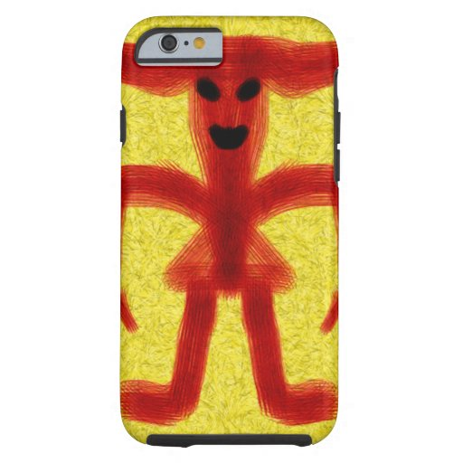 Red colored creature iPhone 6 case
