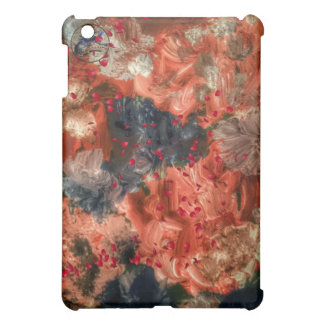 Red coloured flower dream case for the iPad mini