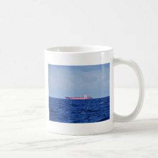 Red Container Ship Mugs