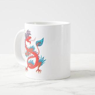 Red Cool Dagon on Specialty  Mug Jumbo Mug