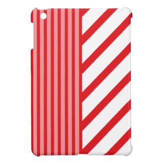 Red Coral Stripe iPad Mini Case