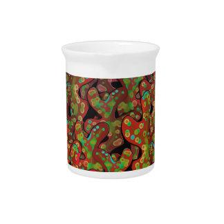 Red corals pitcher
