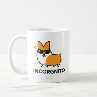 Red Corgi Incorgnito Mug