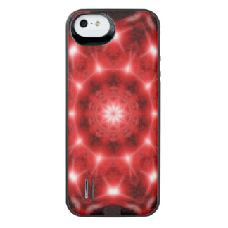 Red Cosmos Mandala iPhone SE/5/5s Battery Case