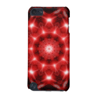 Red Cosmos Mandala iPod Touch (5th Generation) Case