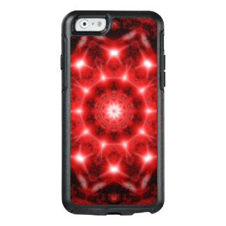 Red Cosmos Mandala OtterBox iPhone 6/6s Case