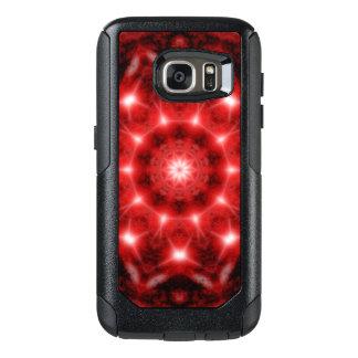 Red Cosmos Mandala OtterBox Samsung Galaxy S7 Case
