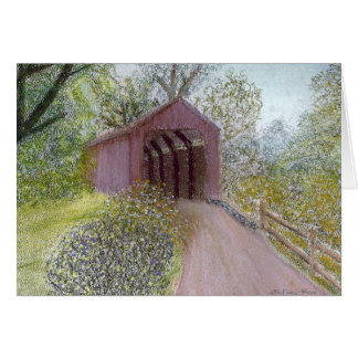 Red Covered Bridge Cards