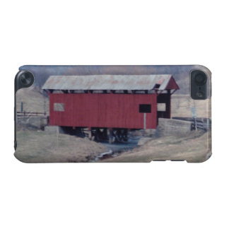 Red Covered Bridge iPod Touch (5th Generation) Covers