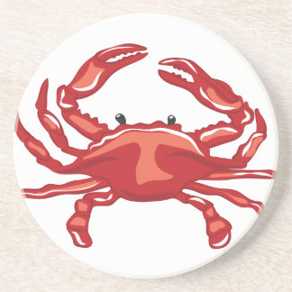 Red Crab Coaster