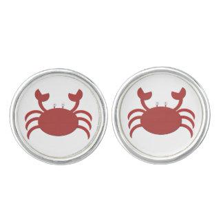 Red Crab Cufflinks