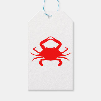 Red Crab Gift Tags