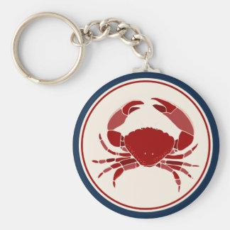 Red Crab Keychain