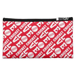 Red Cricket Love Makeup Accessories Bag